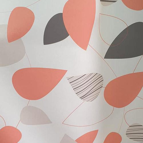 Tissus rideaux et stores orange