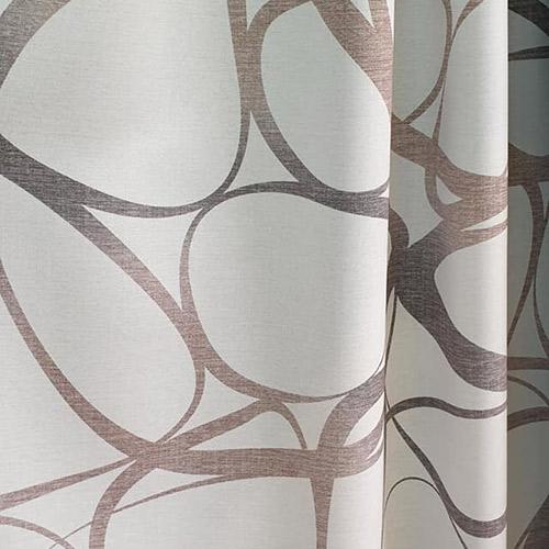 Tissus rideaux et stores brun