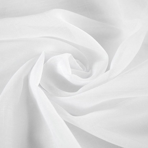 Tissus voilages blancs