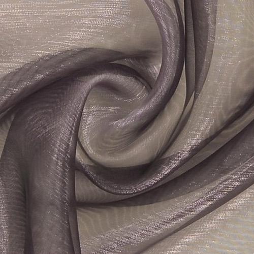 Tissus voilages gris