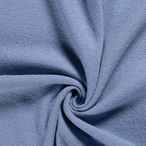 Tissus enfant bleu en laine