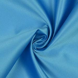 Tissus haute couture satin bleu