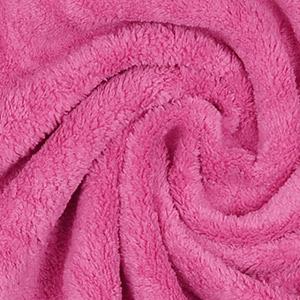 Tissus prêt-à-porter polaire rose