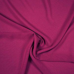 Tissus prêt-à-porter polyester rouge