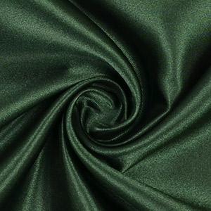 Tissus prêt-à-porter satin vert