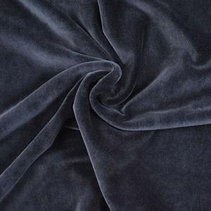 Tissus prêt-à-porter velours noir
