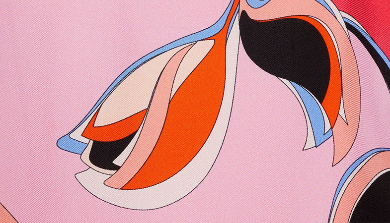 Tissus haute couture Emilio Pucci